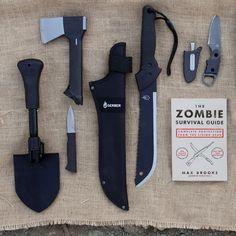 zombie apocalypse melee weapons...