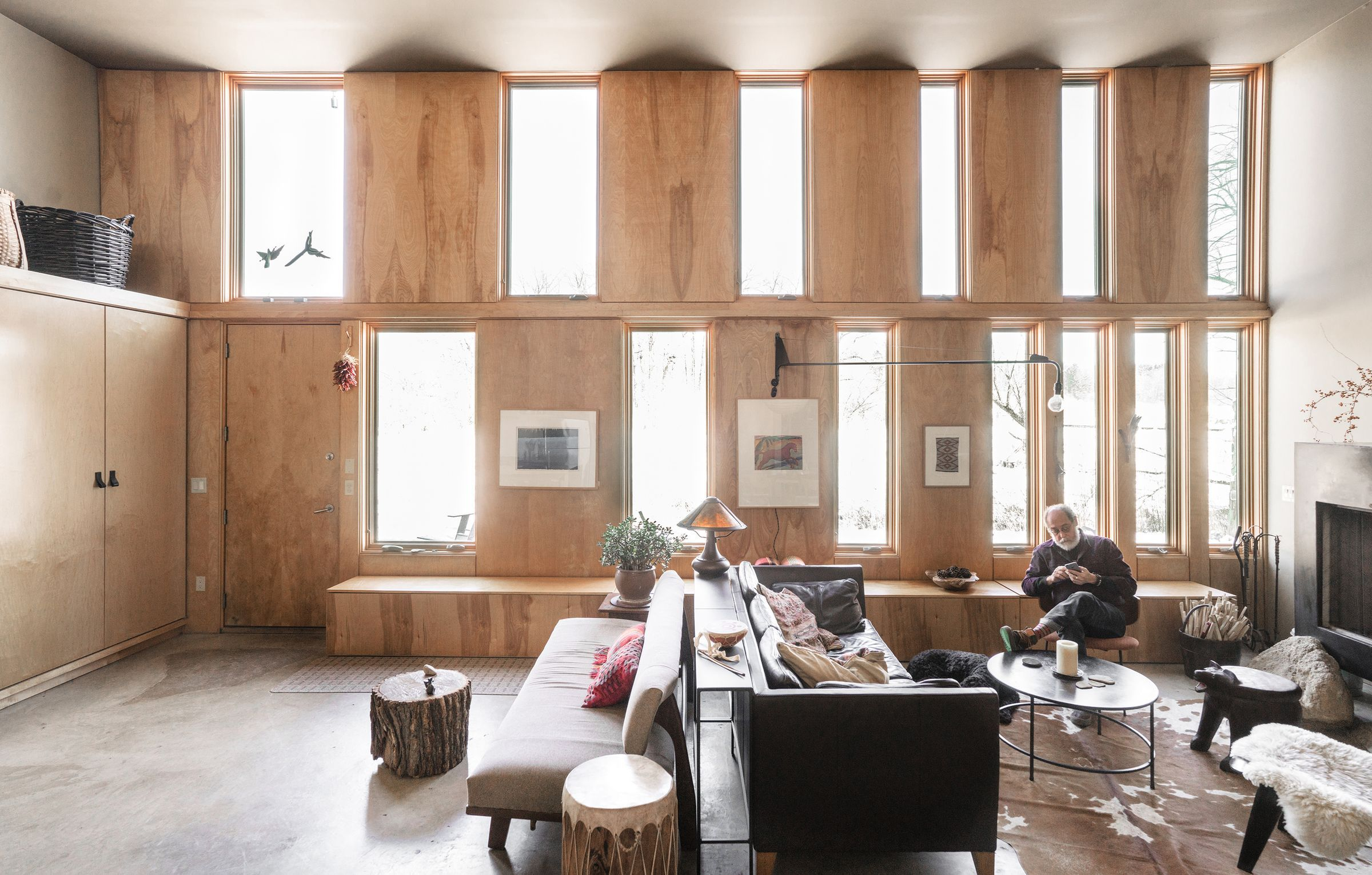 Inside a modern refuge in small-town Indiana | Coffee | Small modern ...