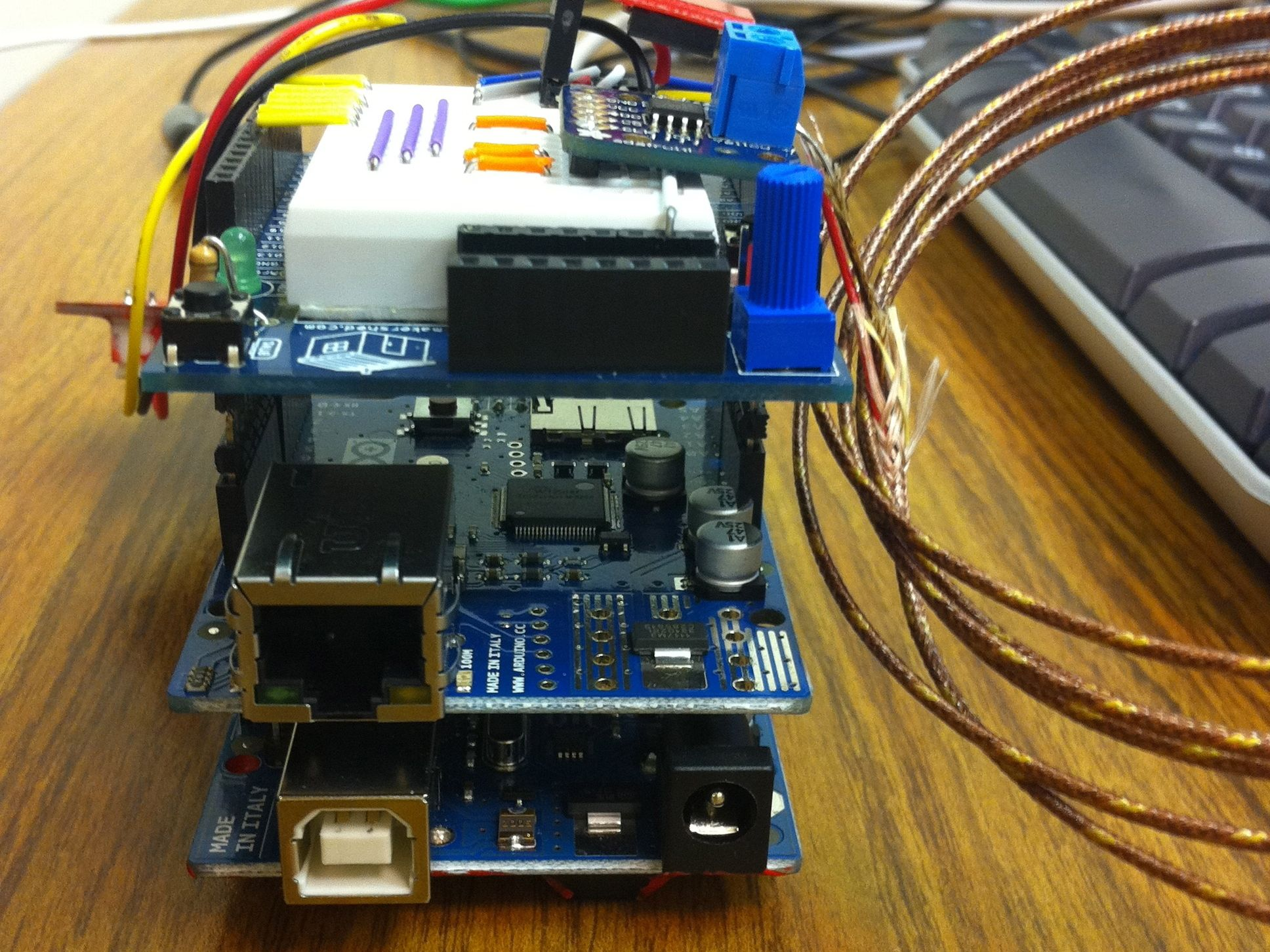 Arduino Temp Humidity Monitor With Web And Snmp Bldc Motor Controller Circuit Electronic Projects This Guide Will Show You How To Build The Write Program Your Own That Can Be Viewed Via Lcd Display