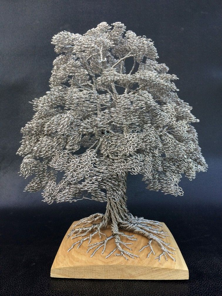 Wired Tree | Wired Tree Sculptures By Clive Madison Art And Design Pinterest