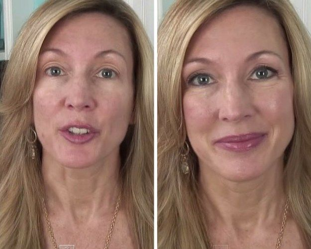 how to use makeup to look older