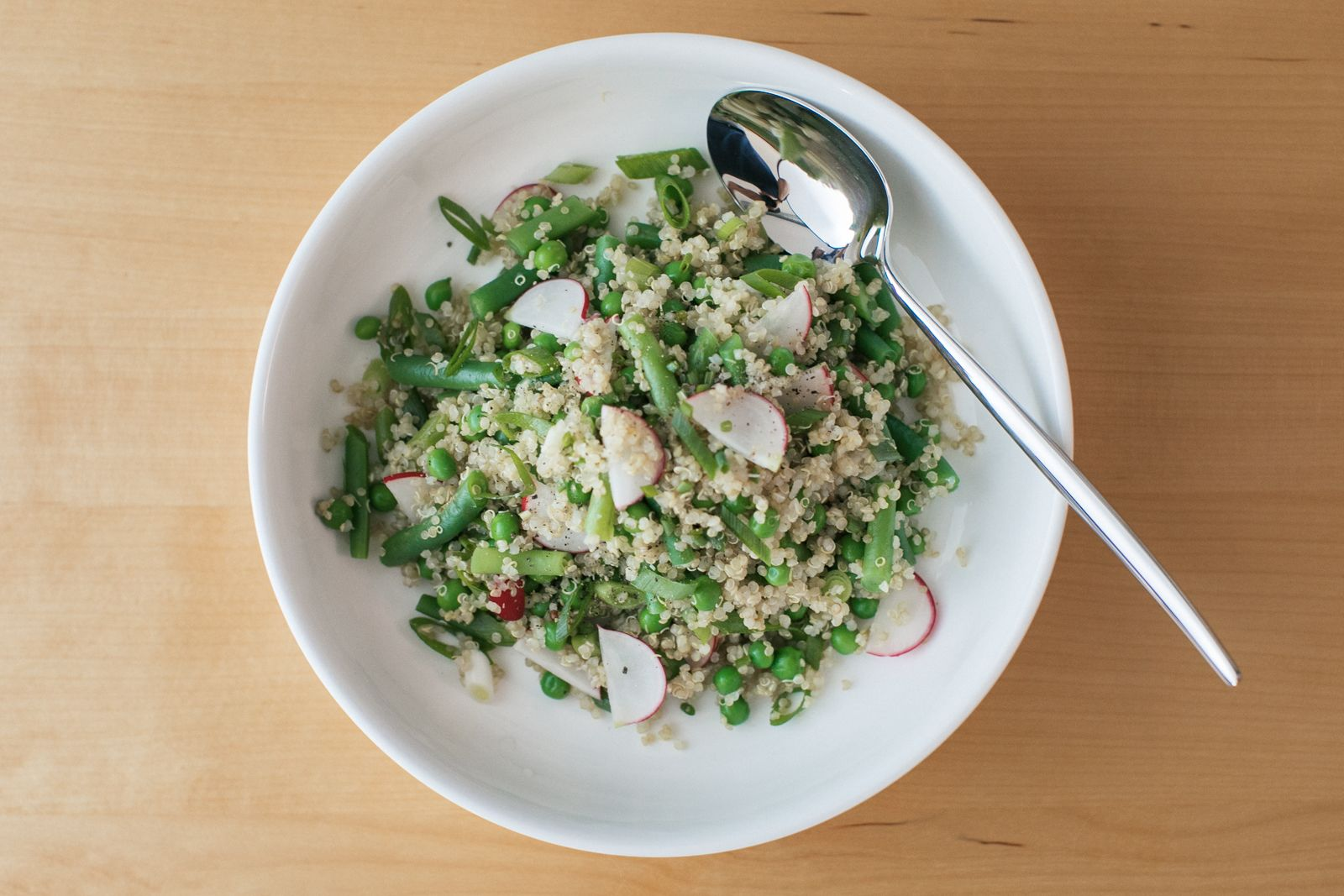 Quinoa Spring Salad with Last Ingredient Blog