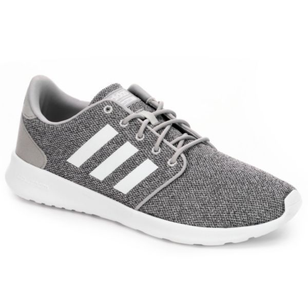 premium selection d0f46 6534b Extra comfy, sleek and ready to run, the Adidas Neo Cloudfoam QT Racer  women s running shoe features plenty of support and style