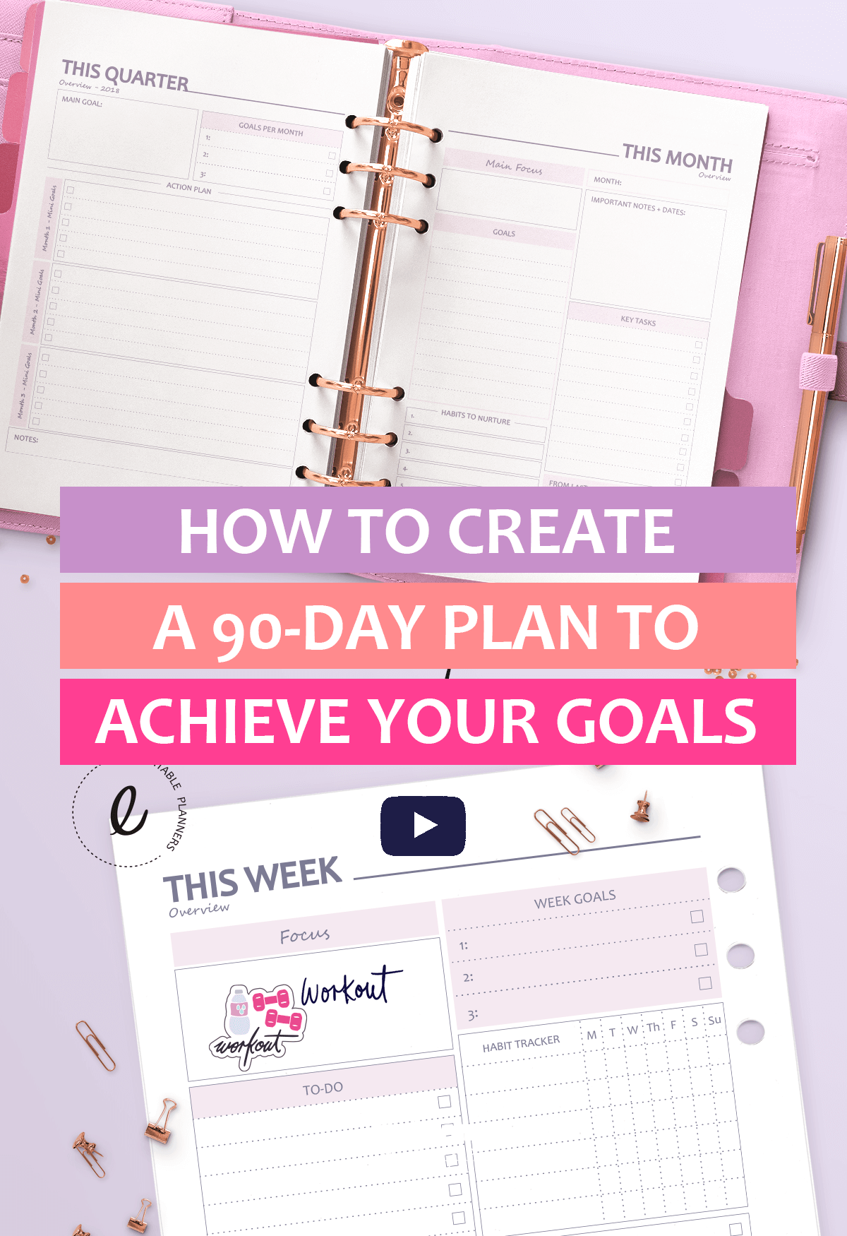 How To Set Goals And Achieve Them By Creating A 90 Days Plan Creativepreneur Smallbusiness