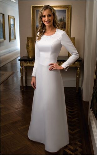 Temple dress #lds #temple #templedress | Someday My Prince Will Come ...