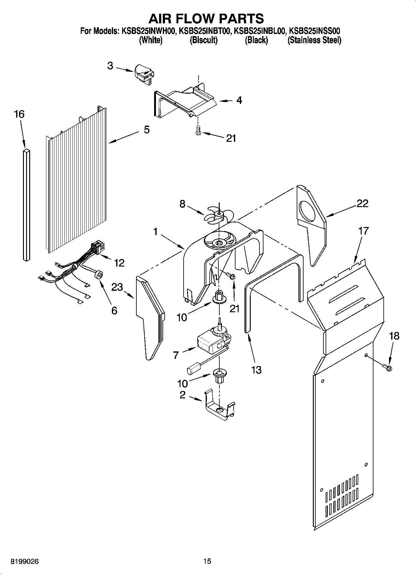 50 Kitchenaid Superba Refrigerator Parts Diagram Up2n
