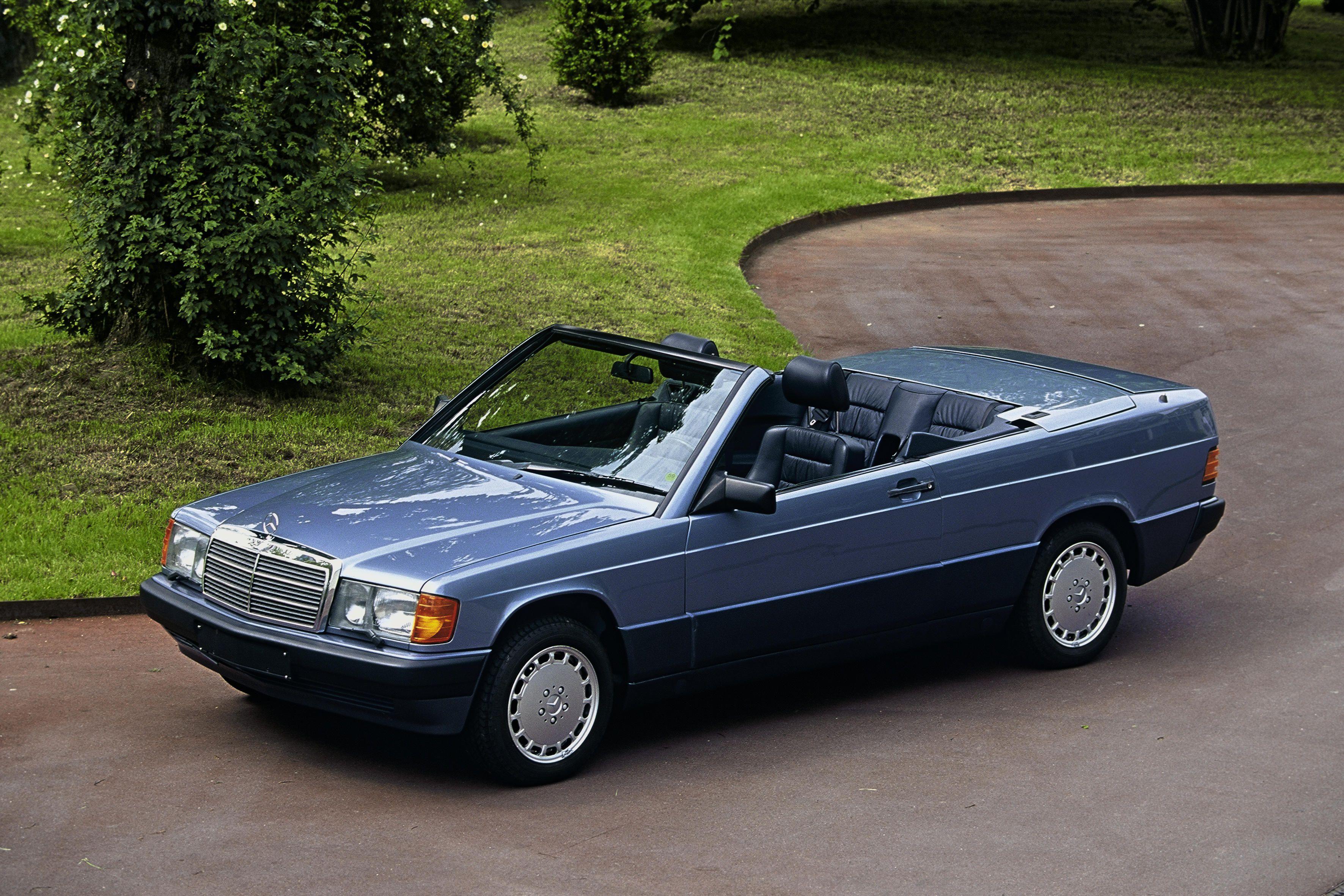 mercedes benz 190 e cabriolet prototype w201 39 1989 le. Black Bedroom Furniture Sets. Home Design Ideas