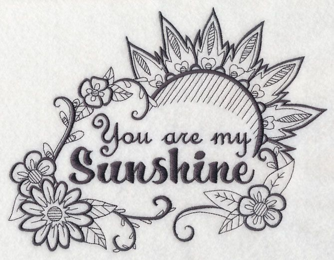 you are my sunshine design m7262 from piercings and tattoos pinterest. Black Bedroom Furniture Sets. Home Design Ideas