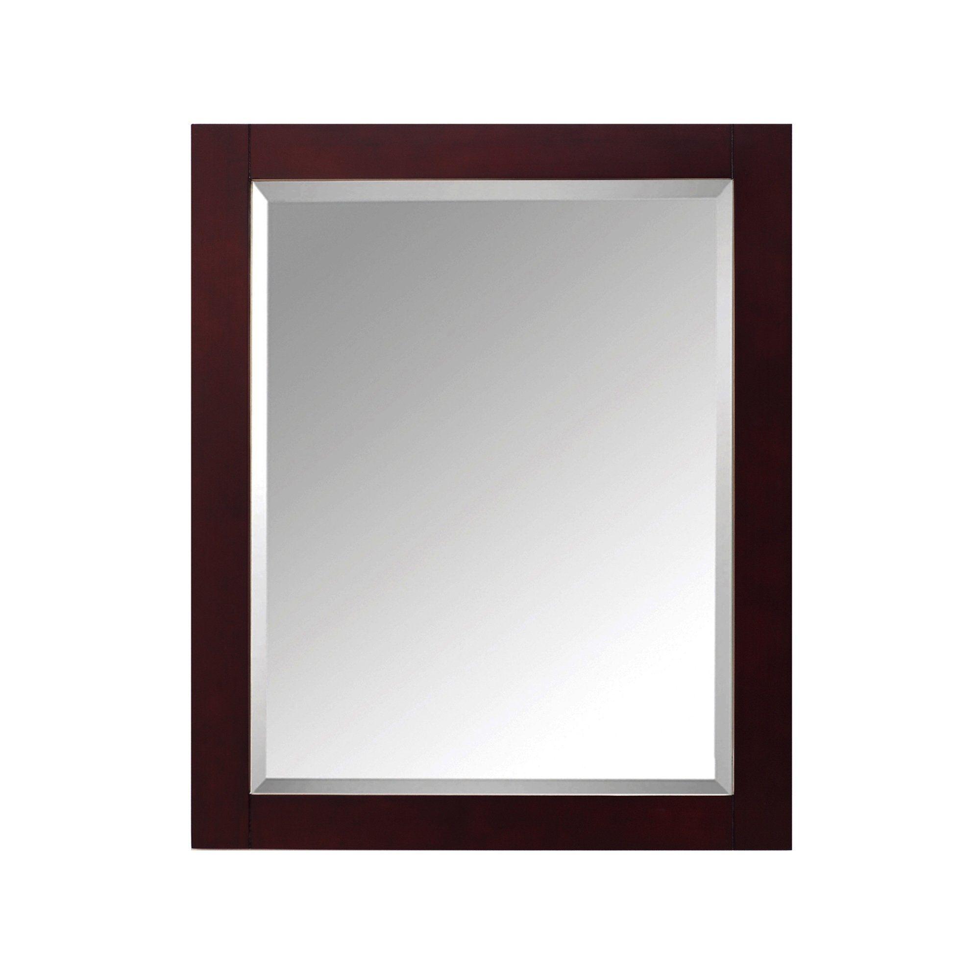 Avanity Modero 28 In Wall Mirror Espresso 28 W X 32 H