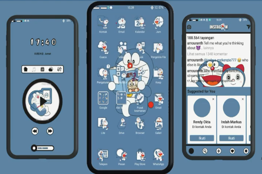 Download Tema Wallpaper Doraemon doraemon di 2020