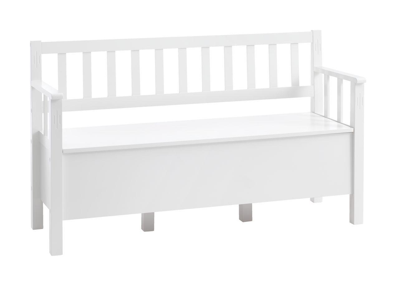 Bänk AULUM med förvaring vit JYSK Matsal Pinterest Matsal