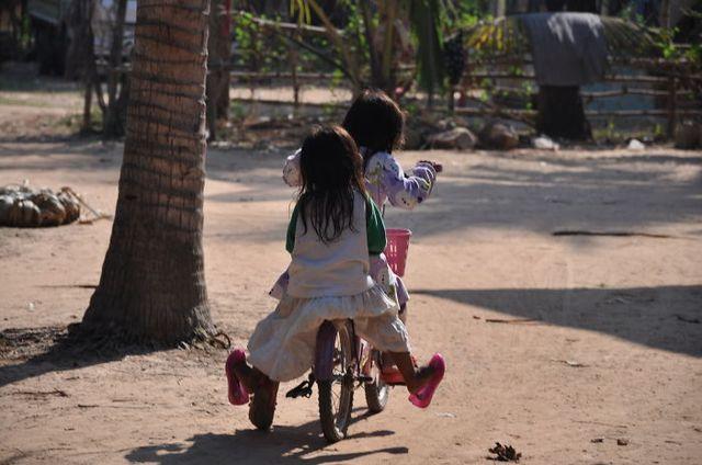 En bici por Camboya