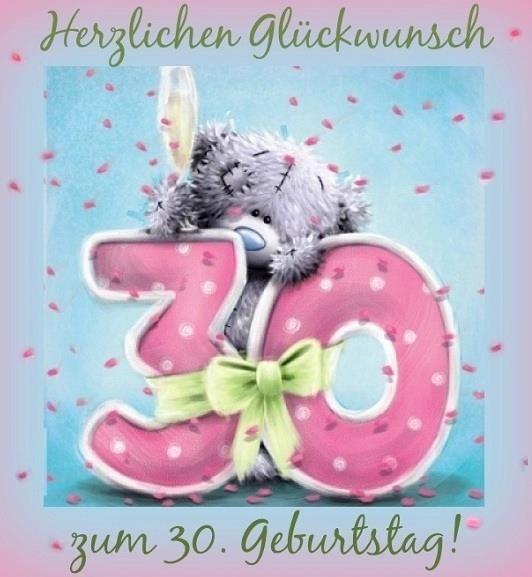 Herzlichen Gluckwunsch Zum 30 Geburtstag Gluckwunsche Zum 30