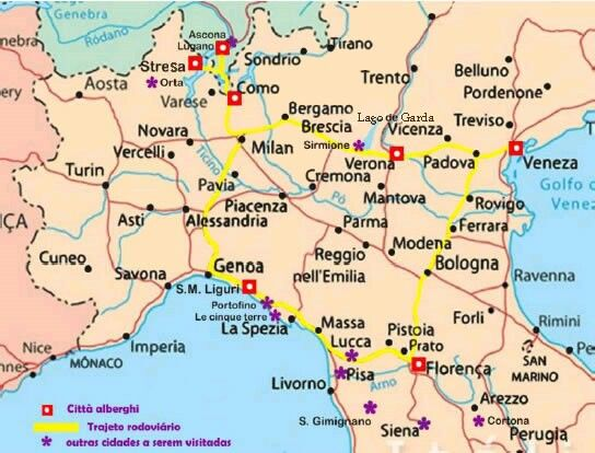 mapa italia norte Pin by Cristina Rodriguez on norte italia | Pinterest mapa italia norte
