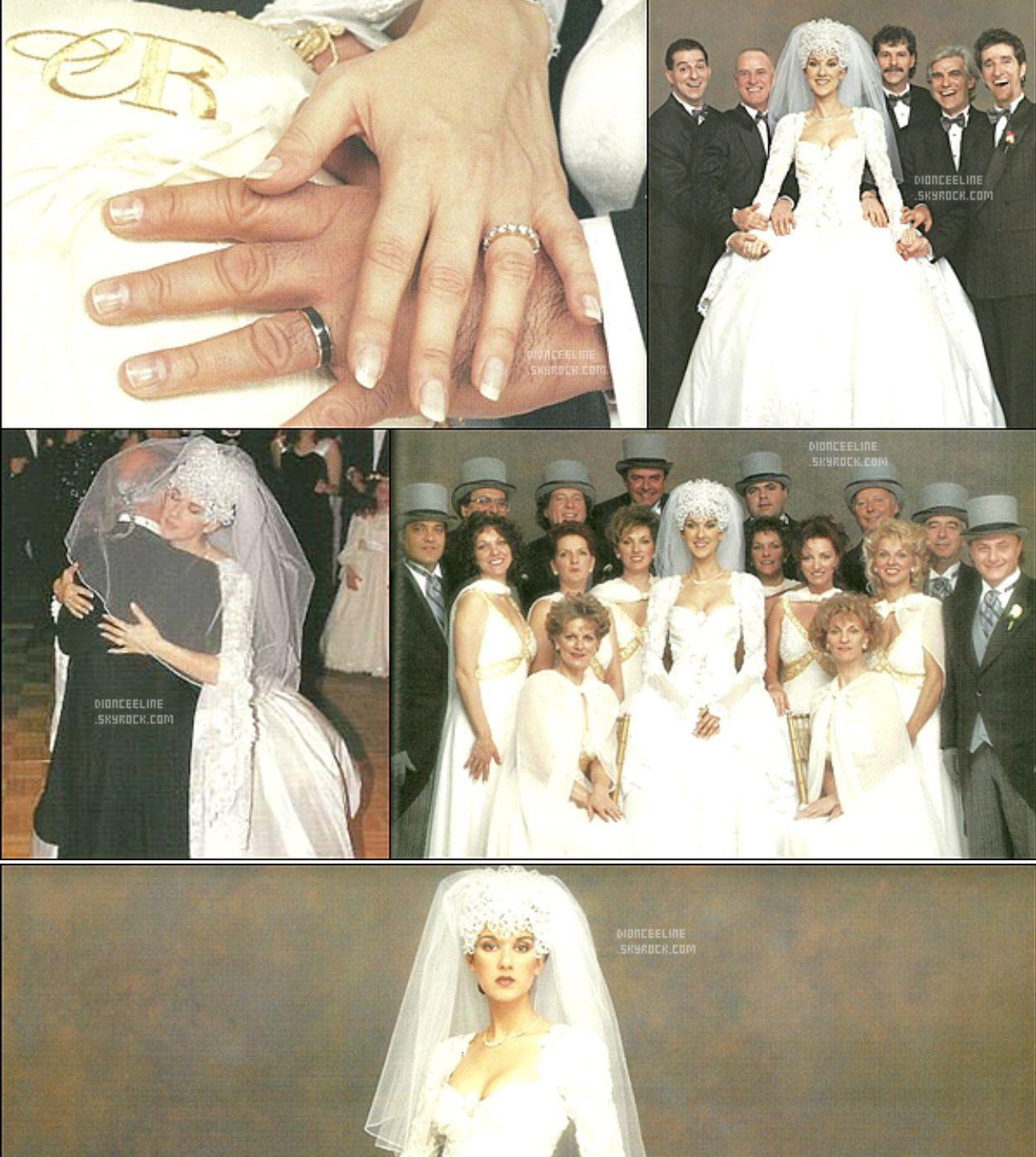 Celine Dion Rene Angelil Celine Dion Wedding Celine Dion Celebrity Weddings