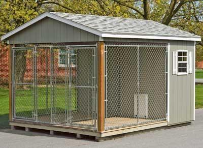 Kennel With Images Dog Kennel Outdoor Dog Houses Dog Kennel
