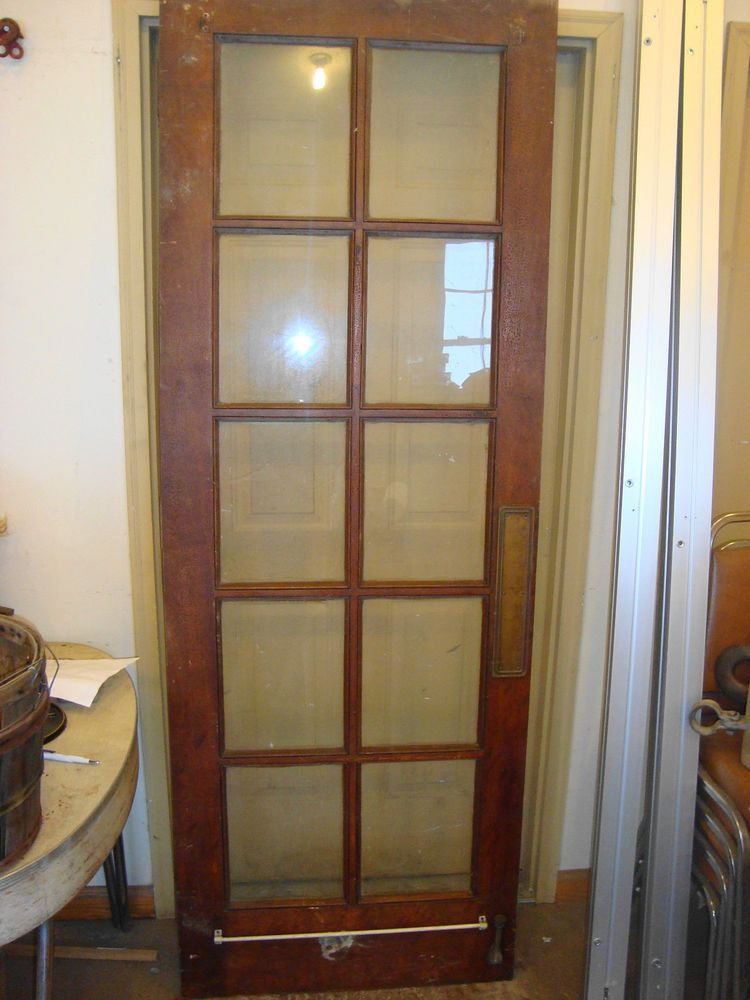 Antique Rustic 10 Glass Pane Interior French Door Discount Interior Doors French Doors French Doors Interior