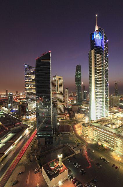 Kuwait Skyscraper Skyscraper Kuwait City City