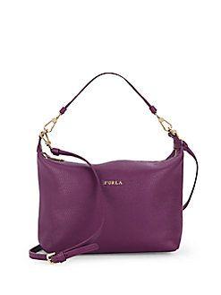 Sophie XL Leather Crossbody Bag