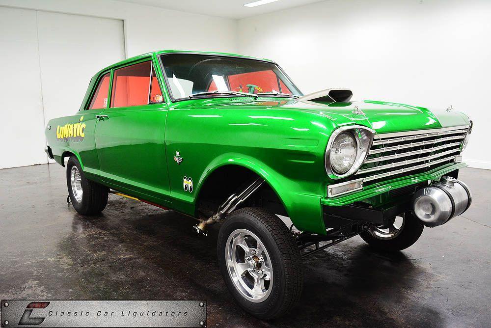 1962 Chevrolet Nova - Classic Car Liquidators | Chevy Nova Gassers ...