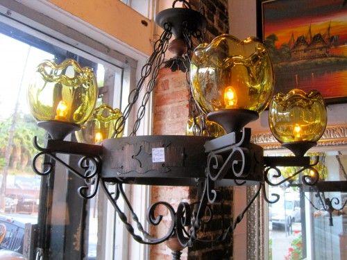1960s Spanish Style Chandelier Casa Victoria La Lighting