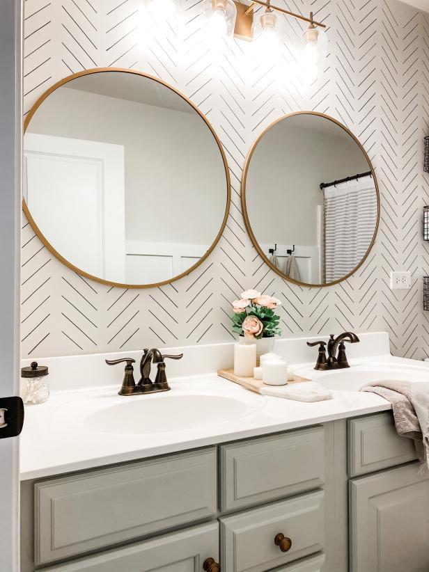 50 Almost Free Bathroom Remodeling Ideas Hgtv Bathroom Redecorating Girl Bathrooms Bathrooms Remodel