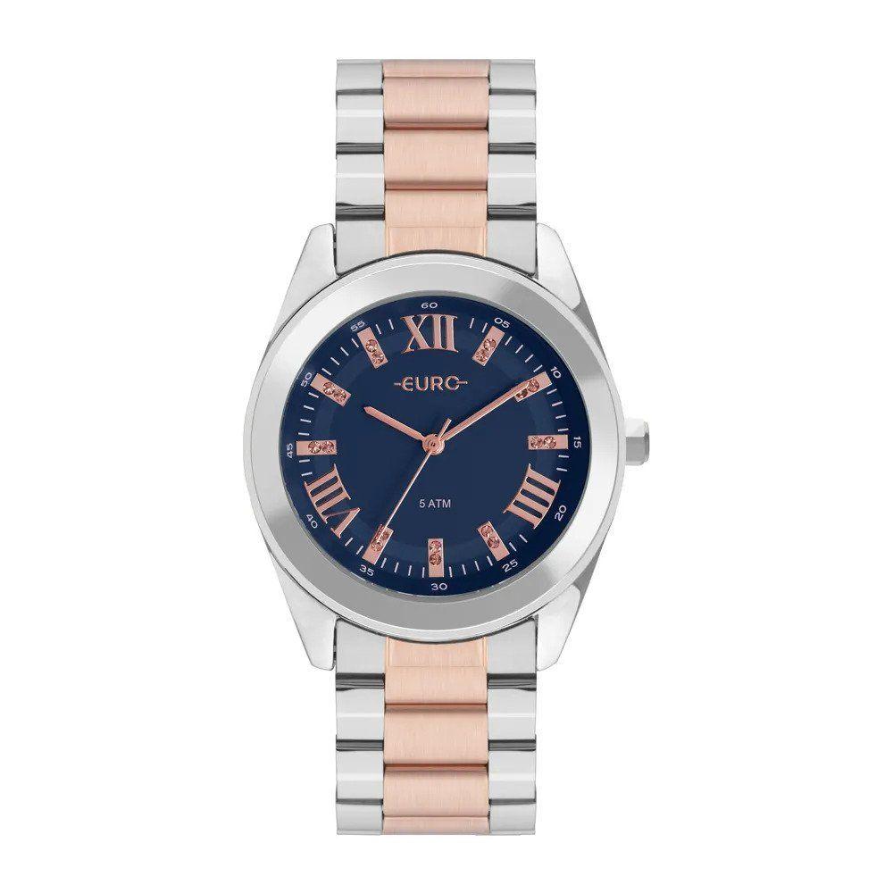 Relógio Euro Feminino Roman Shine Bicolor EU2036YNC 5A - O relógio bicolor feminino  Euro é dabc816be0