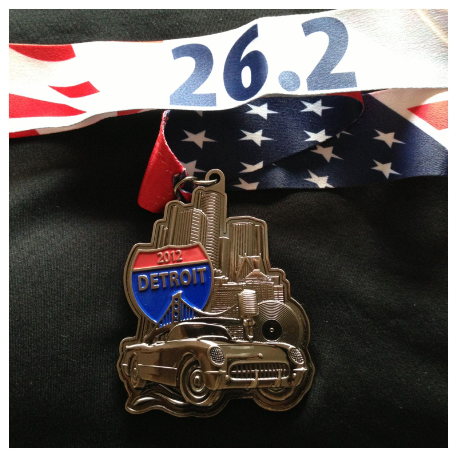 2012 Detroit Marathon Detroit Mi Usa Medallas Trofeos