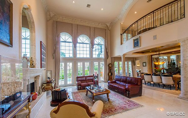 2 Story Living Room Home Design Pinterest Living Rooms Room And Fort Lauderdale