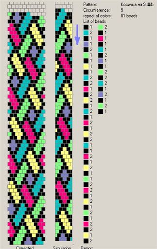 Free Pattern For Beaded Crochet Rope Mallow Seed Beads Pinterest