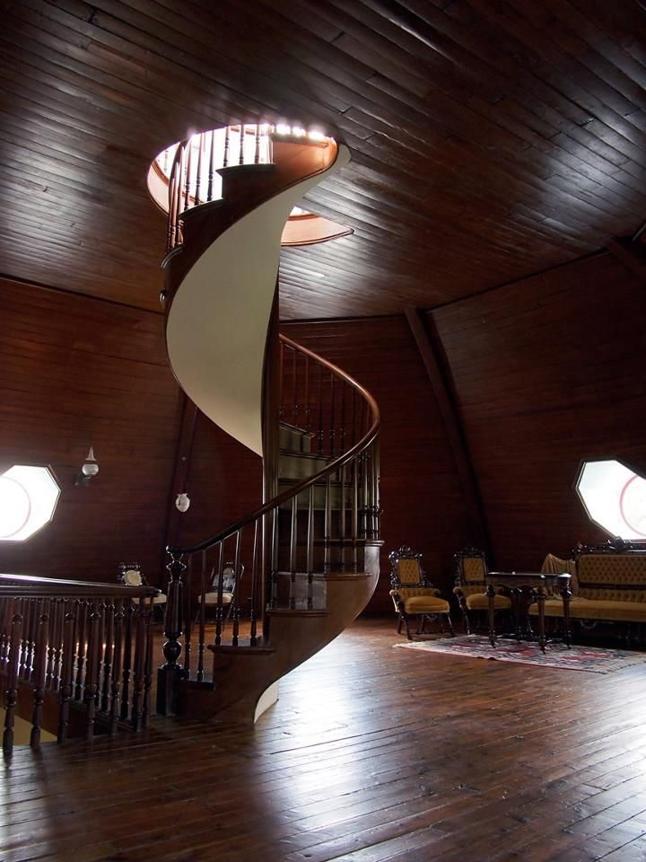 The Armour Stiner Octagon House Irvington Ny Is One Of Most Visually Unique Homes In World It Only Known Residence Constructed