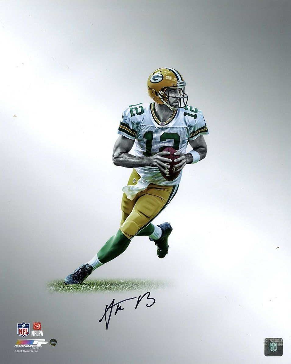 Aaron Rodgers Green Bay Packers Autographed Platinum Collection Nfl Football 16 X 20 Phot With Images Rodgers Green Bay Green Bay Packers Aaron Rodgers Green Bay Packers