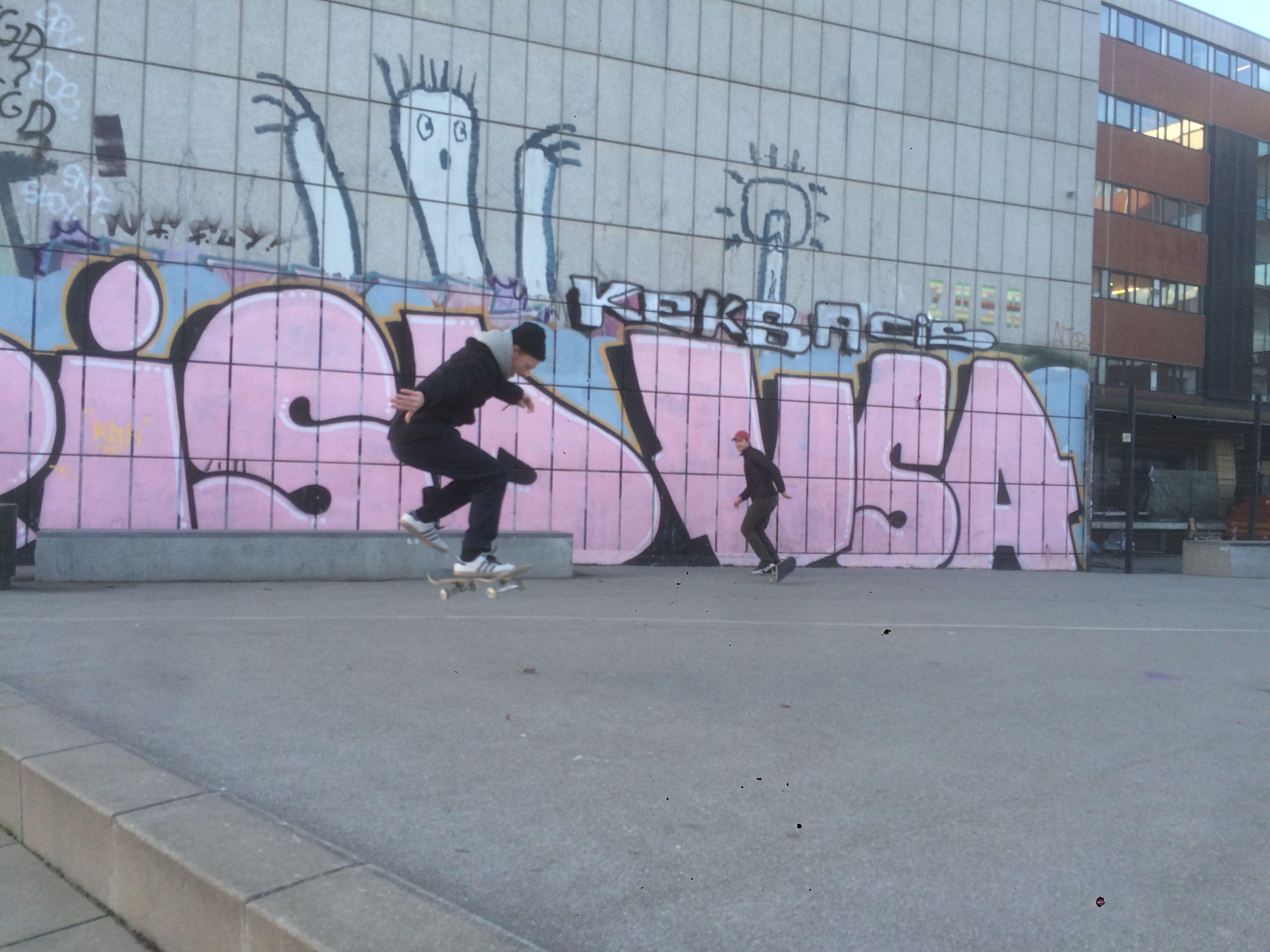 Skate a Copenaghen