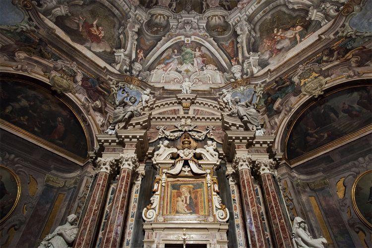 Chiesa di S. Maria della Carità a Brescia, Italy.
