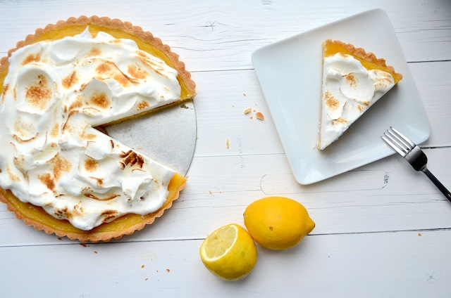 Citroen meringue taart - Uit Pauline's Keuken