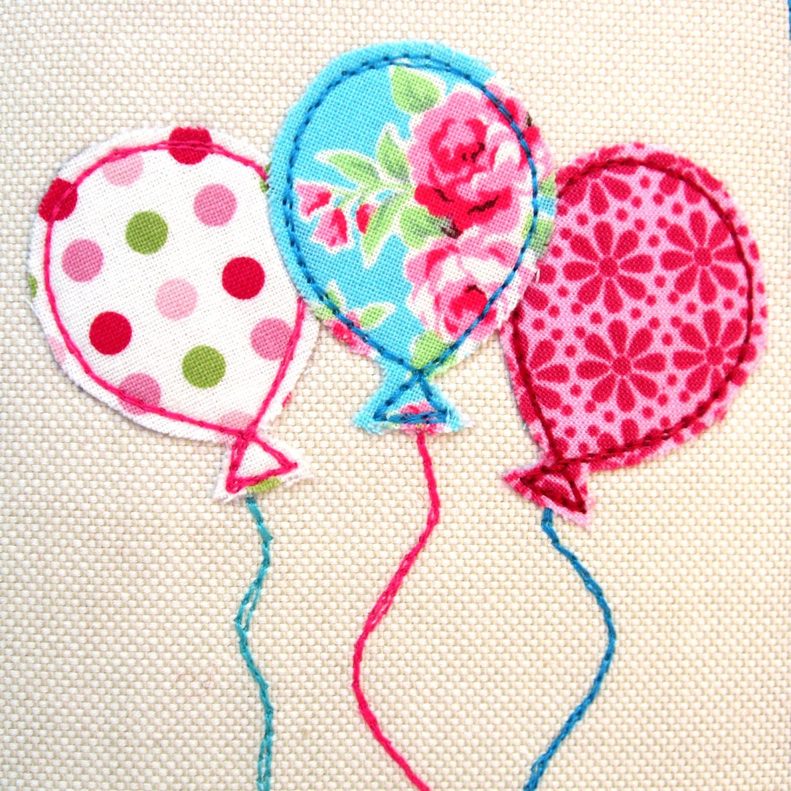 Luftballons   Nähen   Pinterest   Luftballons, Applikationen und Nähen