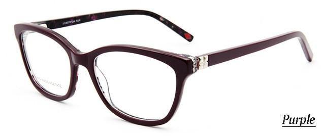 Luxury Women\'s Designer Prescription Glasses Butterfly Shape Fashion ...