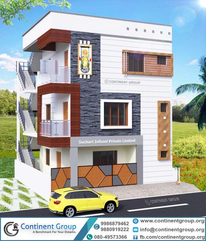 Home Design Ideas Bangalore: 3d Building Elevation 3d Front Elevation Bangalore