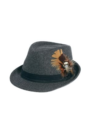 Ted Baker Flecked Cord Trilby