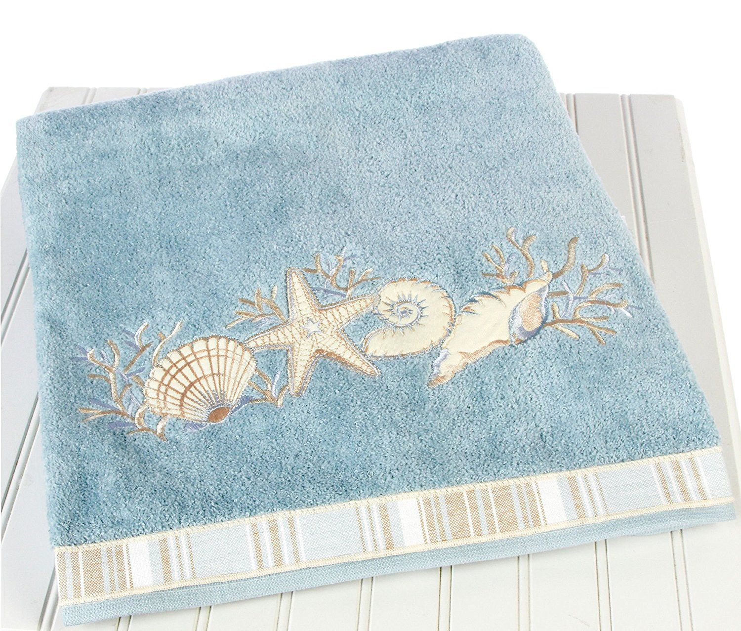 Image Result For Beach Themed Bathroom Towel Sets