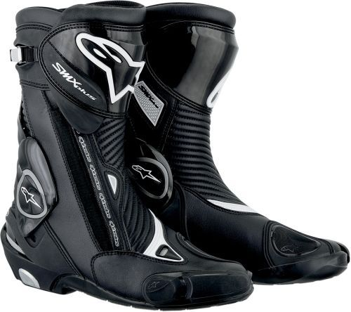 36 Black//Black Alpinestars Mens SMX-S Street Motorcycle Boot