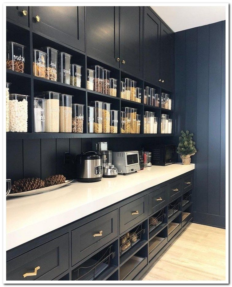 39 Mind Blowing Kitchen Pantry Design Ideas For Your