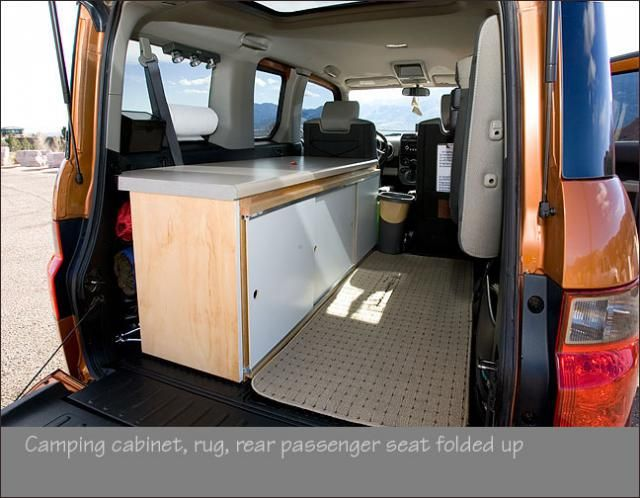 1 Person Camper Conversion Honda Element Owners Club Forum