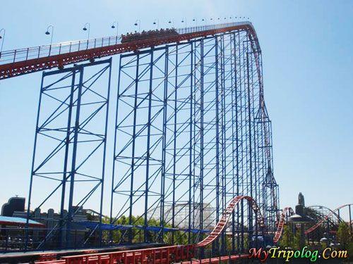 Superman Ride Of Steel Roller Coaster At Six Flags America Baltimore Washington D C Largo Six Flags America Travel Around The World Coaster Projects