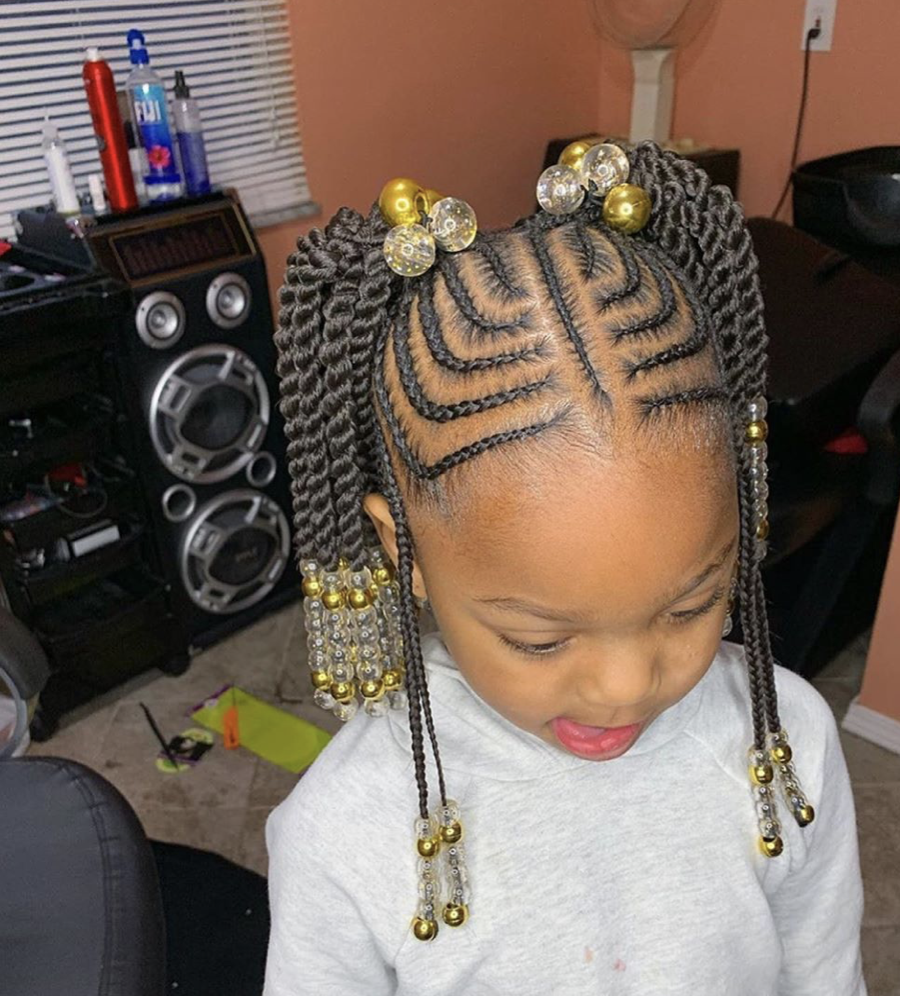 5 Simple Easy Braid Style Tutorials For Little Girls Voice Of Hair In 2020 Kids Hairstyles Girls Kids Hairstyles Little Girl Braid Hairstyles