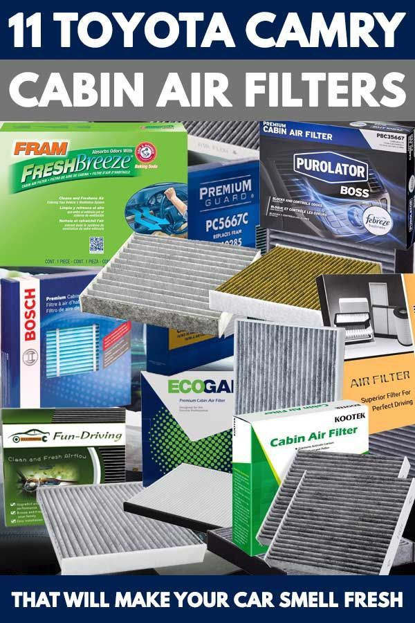 11 Toyota Camry Cabin Air Filters That Will Make Your Car