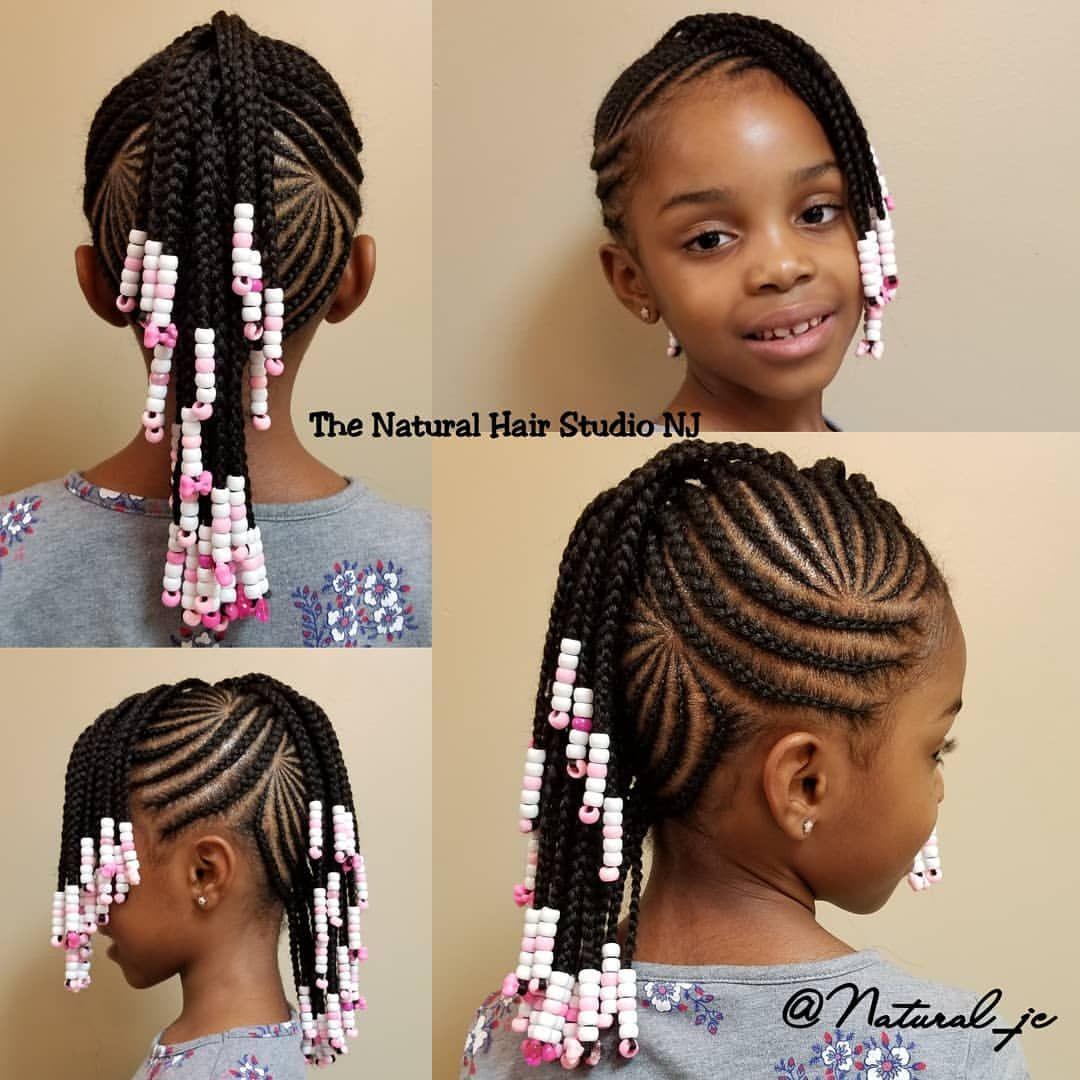 70 Big Cornrow Braids Styles Picture Girls Cornrow Hairstyles Little Girls Natural Hairstyles Cornrows Natural Hair