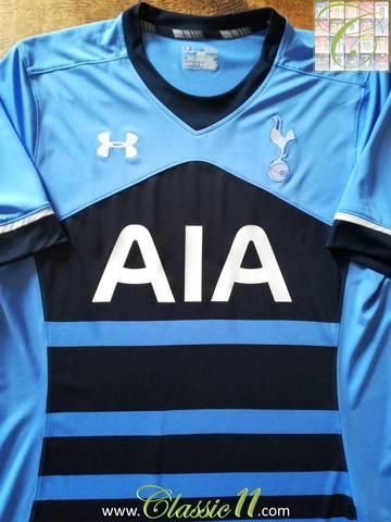 875aefd0ed460 Relive Tottenham Hotspur's 2015/2016 season with this original Under Armour away  football shirt.