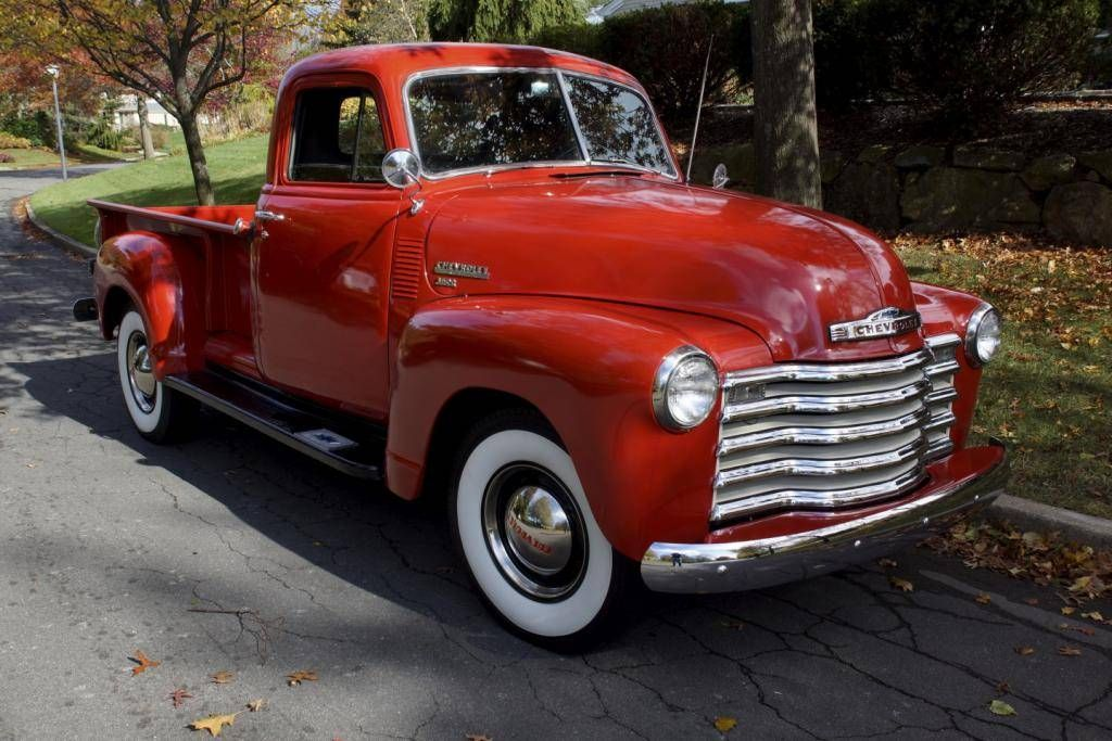 1951 Chevrolet 3600 3 4 Ton With Images Old Pickup Trucks