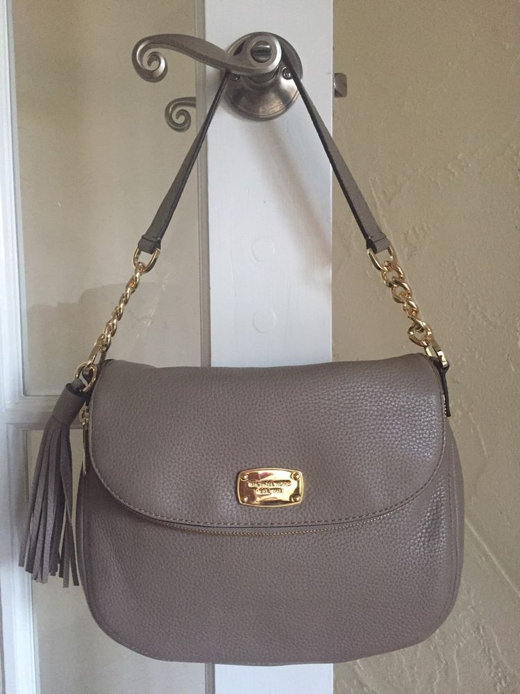 b26d20ef3ebc ... shop michael kors bedford medium tassel convertible shoulder bag dark  taupe michaelkors shoulderbagcrossbody dabe6 c48e9